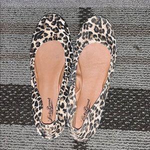 Lucky Brand Cheetah Flats